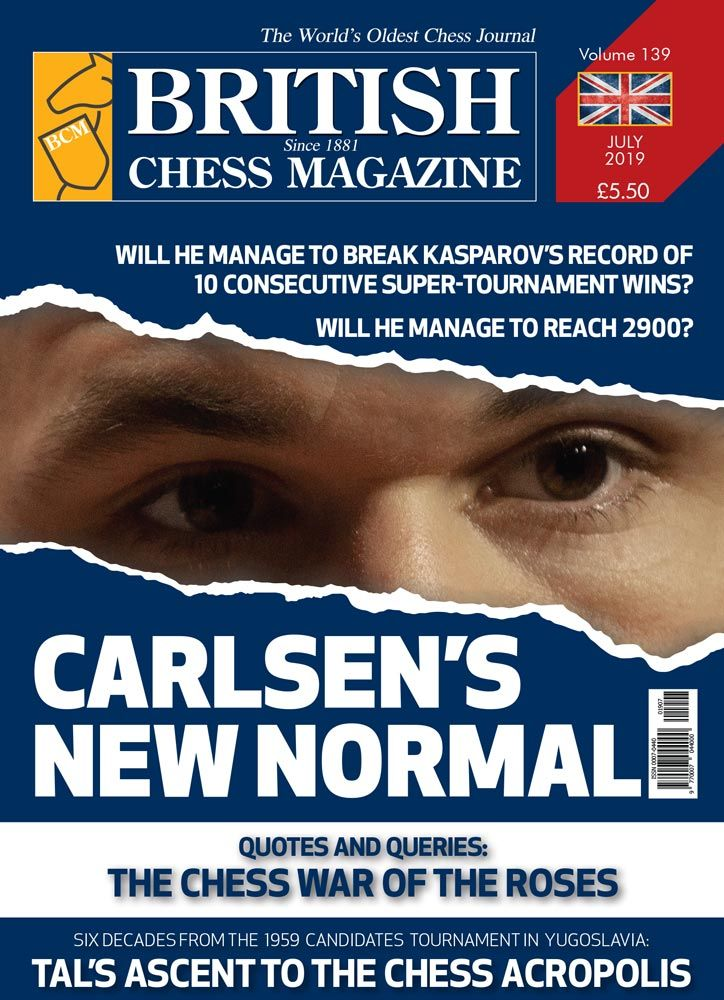 British Chess Magazine: July 2019